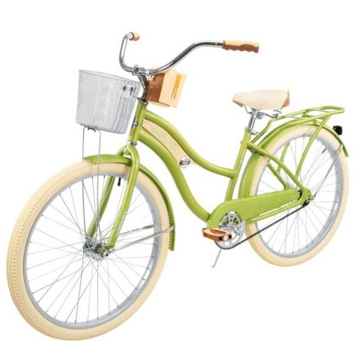 """Huffy Nel Cruiser with Fit Green, 26"""""""