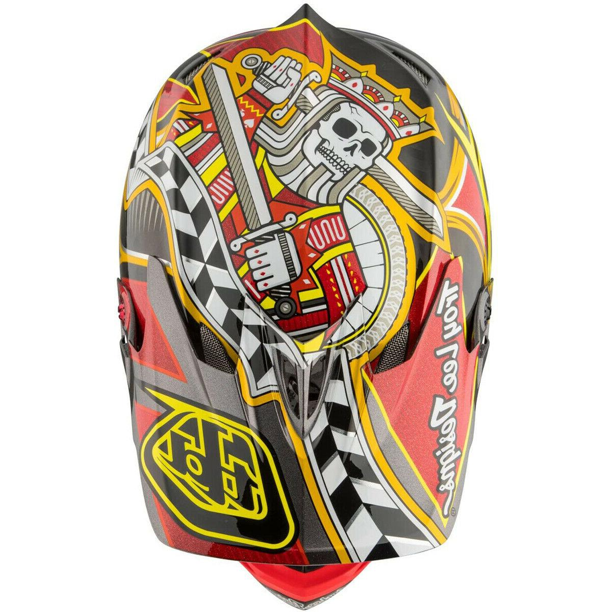 NEW Lee TLD D3 Carbon MTB Helmet Red