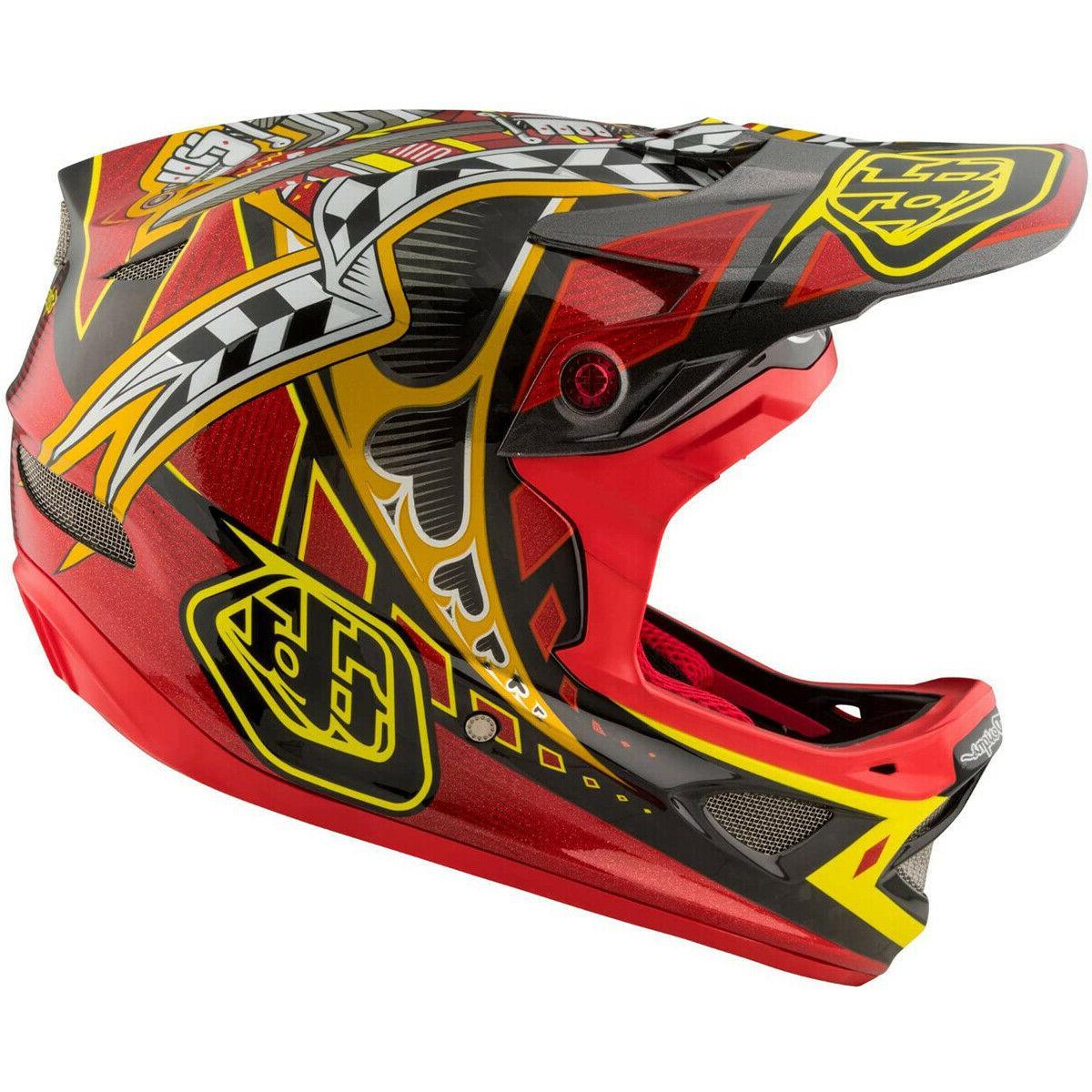 NEW TLD D3 MTB Helmet Red