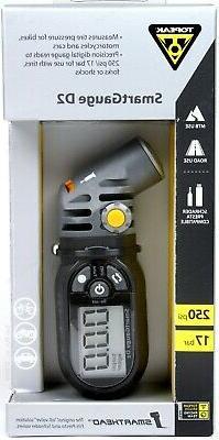 Topeak SmartGauge D2 Presta/Schrader 250 psi