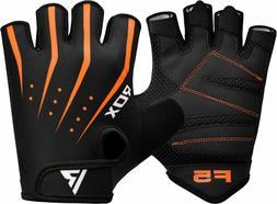 RDX Ladies Bike Cycling Half Finger Gloves Short Finger Gel