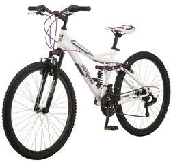 Mongoose Ledge 2.1 Mountain Bike, 26-inch wheels, 21 speeds,