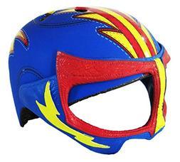 Krash Luchador Wrestler Mask Youth Bicycle Helmet, Ages 8-14