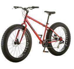 Mangoose Mountain Bike Fat Tire 26 Wheel Steel Frame Outdoor