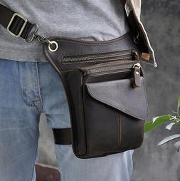 Men Fashion Motorcycle Design Waist Belt Pack Drop Leg Messe