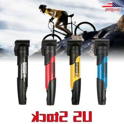 Mini Portable Bicycle Air Pump MTB Road Bike Cycling Pump Sc