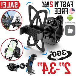 Motorcycle Phone Mount Holder GPS For Bike Bicycle iPhone Ha