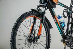 "Mountain Bike 26"" Shimano 21-Speed with Mudguard,Bottle, Sad"
