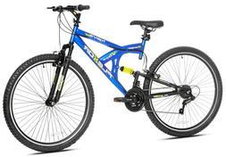"Kent Mountain Bike 29"" Men's Blue Full Suspension Trail St"