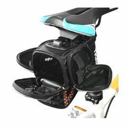 ROCKBROS MTB Road Bike Saddle Bag Pouch Bicycle Seat Bag & W