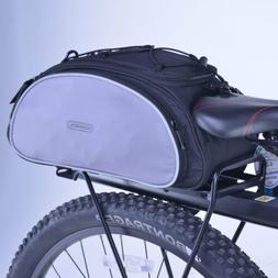 Multifunction Bicycle Bike Bag Rear Back Pannier Cycling Han