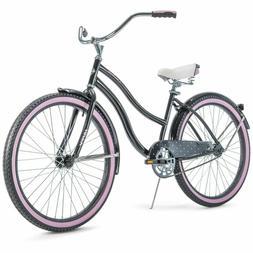 "NEW Huffy 26"" Cranbrook Women's Cruiser Bike with Perfect Fi"