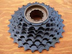 New Black Bicycle Road Mountain Bike 7 Speed Freewheel Gears