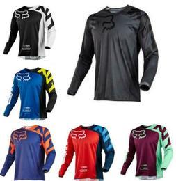New FOX Race 180 Riding Jersey T-shirts Men Motocross/MX/ATV