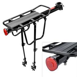 Rear Bicycle Rack Cargo Rack Quick Release Alloy Carrier 110