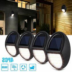 10 LED Solar Power Road Wall Light Security Outdoor Garden W