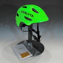 Giro Scamp Youth Bike Helmet Green/Lime Lines XS