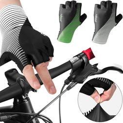 Summer Sport Short Half Finger Gel Pad Cycling Bike Bicycle