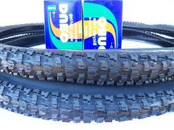 Two  29x2.10 Mountain Bicycle Tires & 2 Duro tubes Pair of 2