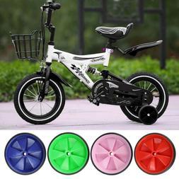 Universal 2pcs Kids Bicycle Training Wheels Bike Stabilisers