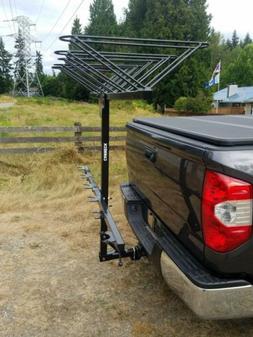 vertical 6 bike hitch rack six carrier