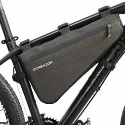 RockBros Waterproof Bike Bag Triangle Large Cycling Tube Fra